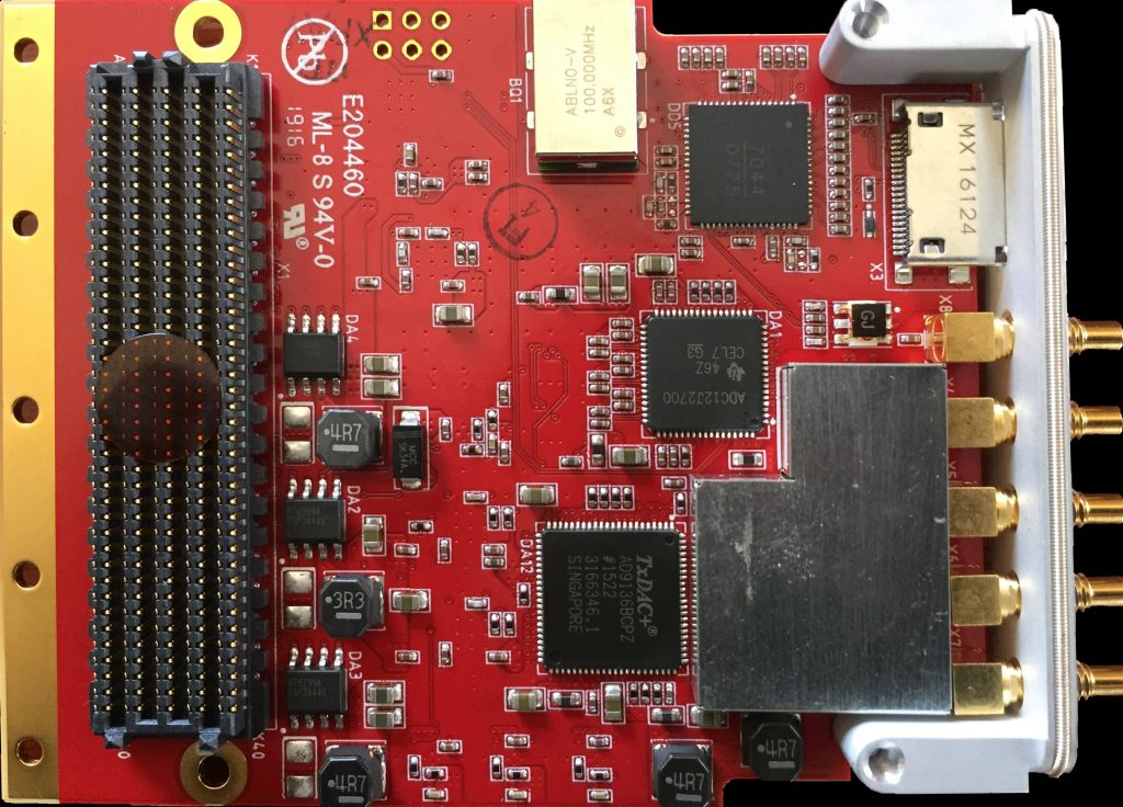 FMC-DAQ2p5, ADC to 2.7GHz and DAC up to 2.8GSPS, HPC FMC
