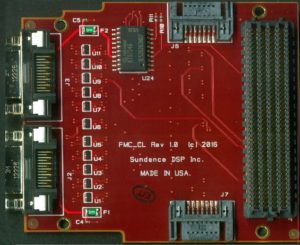 FMC-GPIO, HPC and LPC  I/O interface