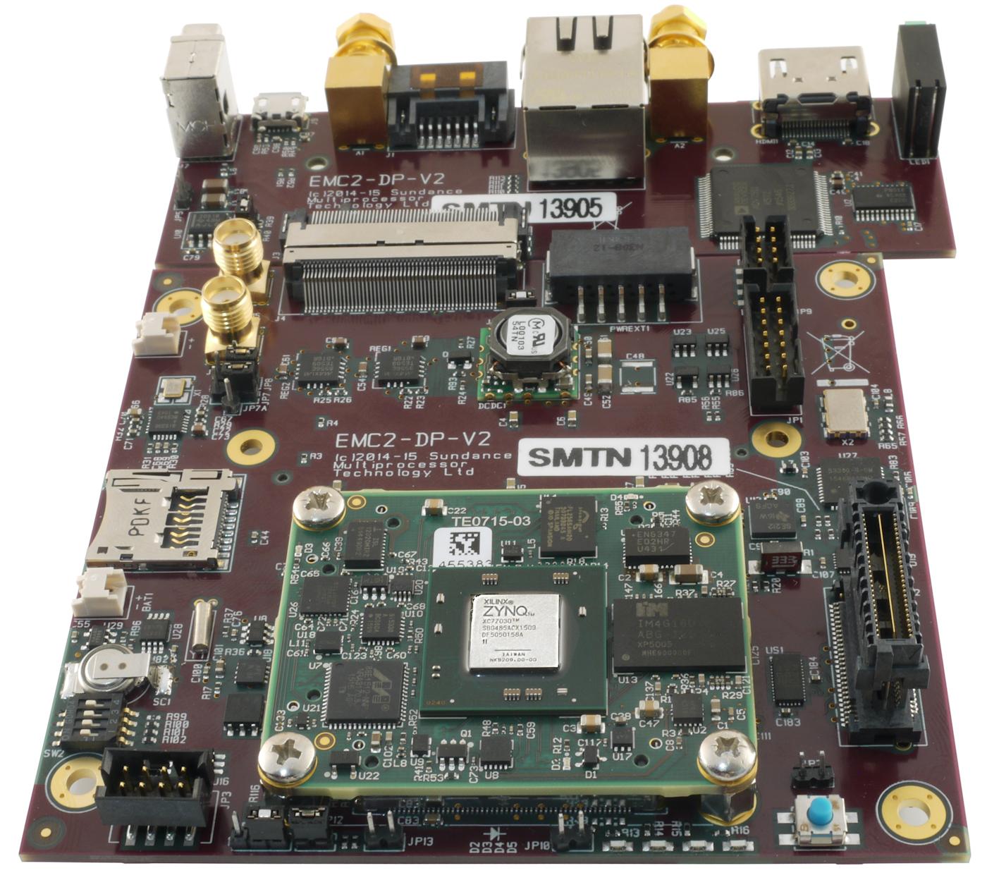 PCIe104 OneBank Board w  Xilinx Zynq Z7030 SoC FPGA