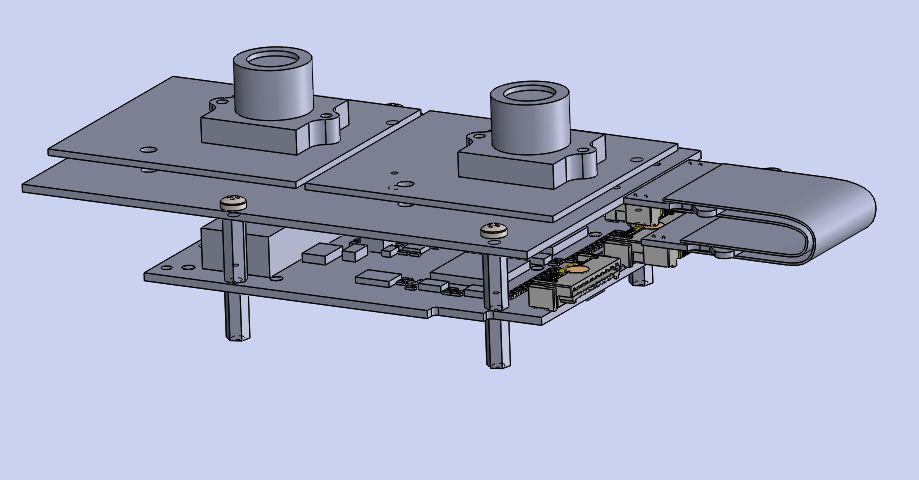 MIPI to FPGA FMC module