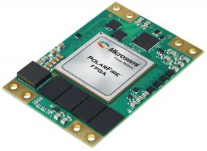 SoM-MPF1 FPGA module with Microsemi  MPF500 or MPF300 FPGA in -1FCG1152 package