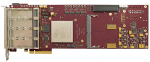 Xilinx Virtex Ultrascale FPGA PCIe board with XCVU190-2FLGC2104E