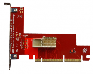 SMT580, PCIe to PXIe adapter card