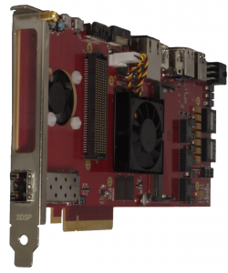 Solar Express 120 (SE120), Xilinx Zynq Ultrascale+ based  MPSoC PCIe card with FMC site