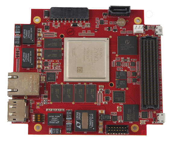 PCIe104Z, based on  Xilinx Zynq Ultrascale+ MPSOC