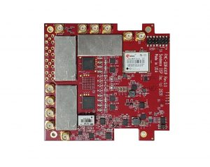 FMC-SDR400P 6 channel RF FMC module in PCIe104 footprint